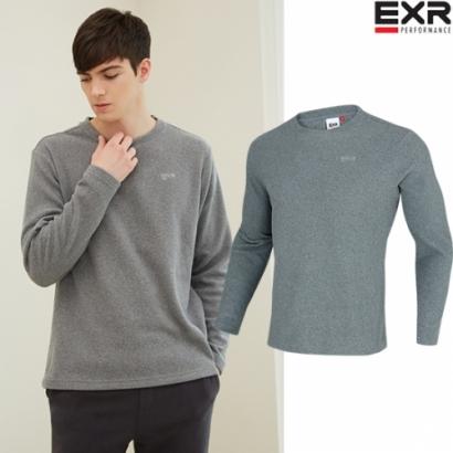 [가격인하/재입고] [EXR] 남성 플리스 티셔츠(멜란지그레이) (업체별도 무료배송)