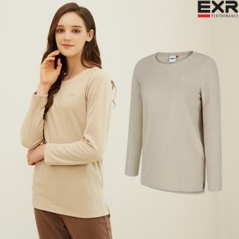 [EXR] 여성 플리스 티셔츠(베이지) (업체별도 무료배송)