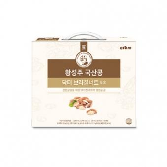 [밤사특가] 이롬 황성주 국산콩 닥터브라질너트 두유 190ml*20입 (업체별도 무료배송)