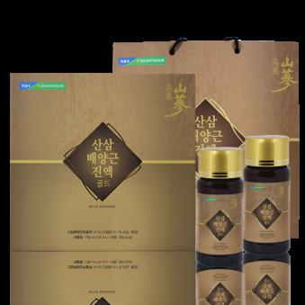 산삼배양근 진액골드 75ml X 10병+쇼핑백증정 (업체별도 무료배송)