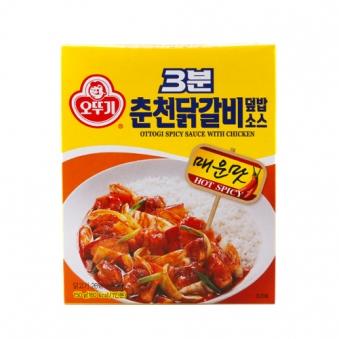 오뚜기 3분 춘천닭갈비덮밥소스 150g