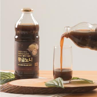마닐 황금 노니원액 발효숙성 주스 1000ml (업체별도 무료배송)