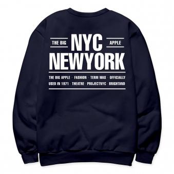 NYC 기모 맨투맨 (업체별도 무료배송)
