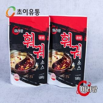 훠궈 홍탕소스 180g X 4팩 (업체별도 무료배송)