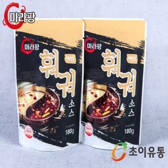 훠궈 백탕소스 180g X 5팩 (업체별도 무료배송)