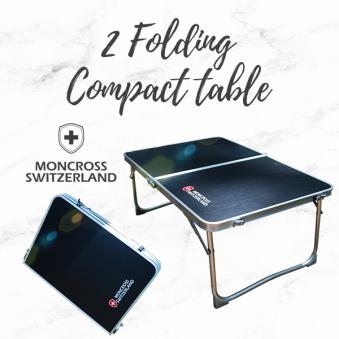 몽크로스 2폴딩 컴팩트 테이블 PMC-1016 (업체별도 무료배송)