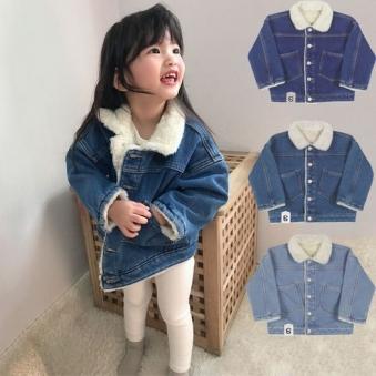 유아동복 기모 융털본딩 겨울 청자켓(3-10세) (업체별도 무료배송)