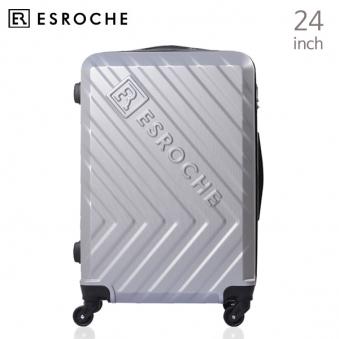 [ESROCHE/에스로체] 실버 ER - CSM 4 (24인치 ABS캐리어) (업체별도 무료배송)