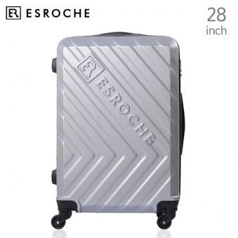 [ESROCHE/에스로체] 실버 ER - CSM 4 (28인치 ABS캐리어) (업체별도 무료배송)
