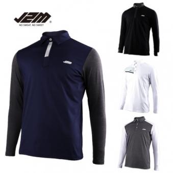 [제이투엠골프] 남성용 피치기모 긴팔티셔츠 A1 4색상 택1 (업체별도 무료배송)
