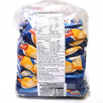[다다익선] [티포] 미니롤케이크 우유맛 벌크 20g x 90개 (업체별도 무료배송)