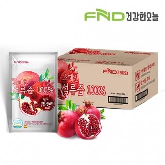 FND건강한오늘 100% 석류즙 80ml x 100포 (업체별도 무료배송)