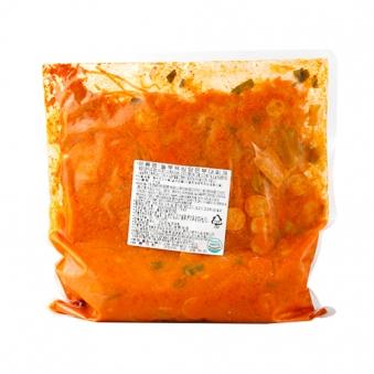 놀부 욕심담은 부대찌개 2kg (3~4인분/벌크형) (업체별도 무료배송)