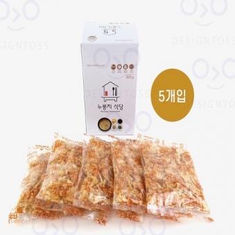 누룽지 식당 60g x 5개 (업체별도 무료배송)