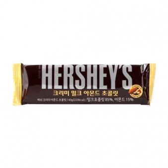 허쉬 크리미 아몬드 초콜렛 40g