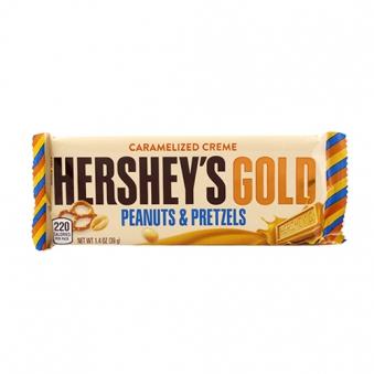 허쉬 레귤러바 골드 초콜렛 39g