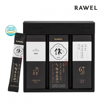 로엘 휴녹용홍삼 스틱 10g*30포+선물용박스포장 (업체별도 무료배송)