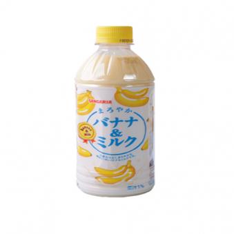산가리아 바나나 앤 밀크 500ml X 10개 (업체별도 무료배송)