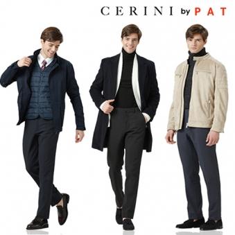 [Cerini by PAT] 남성 부클 기모 릴렉스 팬츠(3색상) (업체별도 무료배송)