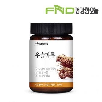 FND 건강한오늘 우슬가루 100g x 1개 (업체별도 무료배송)