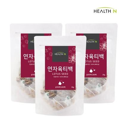 헬스앤 연자육 삼각티백 30T x 3봉 (총 90T) (업체별도 무료배송)