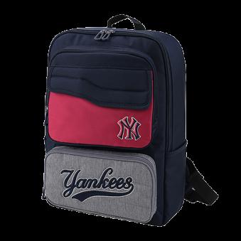 [MLB키즈] 카치온 배색 스퀘어 백팩 뉴욕 양키스 (업체별도 무료배송)