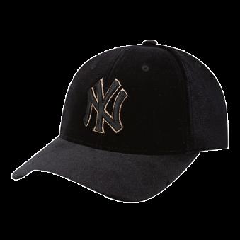 [MLB키즈] 파티 탈착 레이스 리본 CAP 뉴욕양키스(블랙) (업체별도 무료배송)