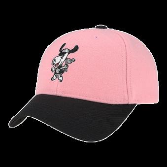 [MLB키즈] 바크 캐릭터 방모 CAP(핑크/블루) (업체별도 무료배송)