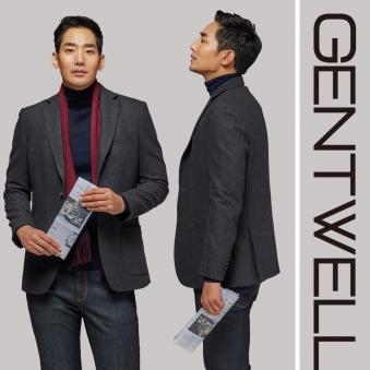 [GENTWELL] 젠트웰 웜 울 퀼팅 멜란지 자켓 GLDJK01A (업체별도 무료배송)
