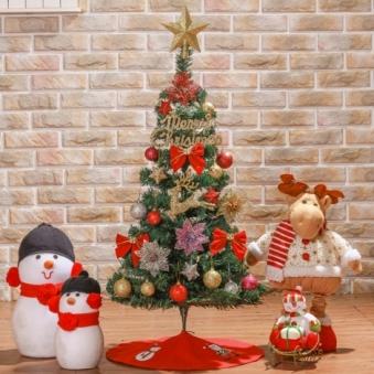 [크리스마스트리] 90cm 프리미엄 스카치트리 풀세트 0403-6472 (업체별도 무료배송)