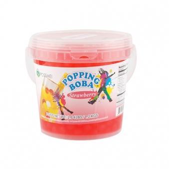꽃샘 팝핑보바 스트로베리향 1.2kg