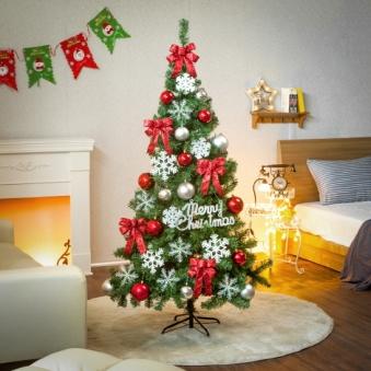 [크리스마스트리] 180cm 솔리드 트리 풀세트 0576-7413 (업체별도 무료배송)
