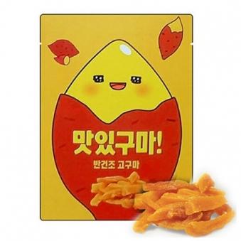 맛있구마! 반건조 고구마 60g x 2개 (업체별도 무료배송)