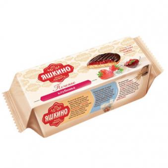 야시키노 초코 버터쿠키 딸기맛 137g