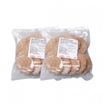 리얼 함박 스테이크 1.6kg x 2봉(업체별도 무료배송)