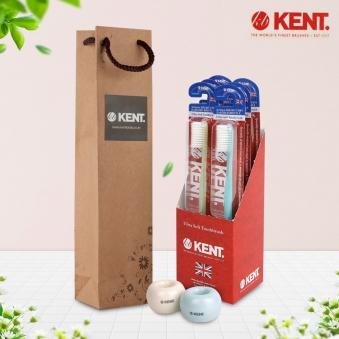 켄트 클래식 칫솔 6개(1팩)+칫솔꽂이2종+쇼핑백증정 (업체별도 무료배송)