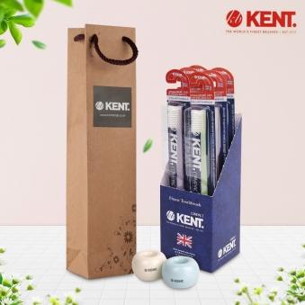 [켄트] 콤팩트 칫솔 6개(1팩)+칫솔꽂이2종+쇼핑백증정 (업체별도 무료배송)