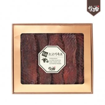 [롯데백화점입점] 정과원 쇠고기육포세트 (호주산 쇠고기육포 400g) (업체별도 무료배송)