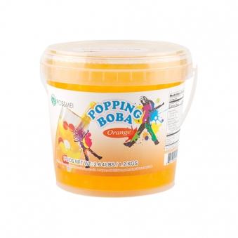 꽃샘 팝핑보바 오렌지향 1.2kg