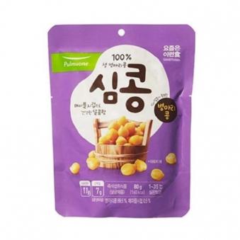 [다다익선] [풀무원] 심콩 병아리콩 80g x 10개 (업체별도 무료배송)