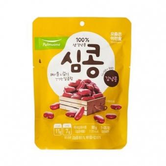 [다다익선] [풀무원] 심콩 강낭콩 80g x 10개 (업체별도 무료배송)