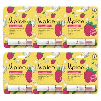[다다익선] [멘소래담] 립아이스립밤 딸기 3.5g x 6개 (업체별도 무료배송)