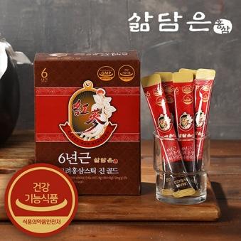 [삶담은홍삼] 6년근 고려홍삼 스틱진골드 12g x 30개입 (업체별도 무료배송)