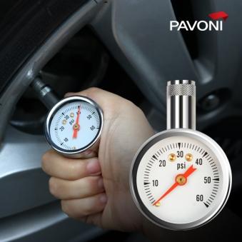 파보니 (PAVONI) 자동차타이어 공기압 측정기(NEW) (업체별도 무료배송)