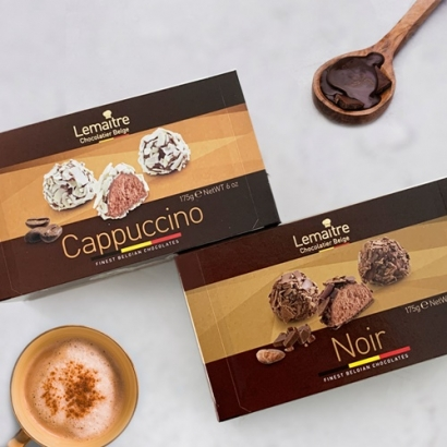 르메르트 트러플 초콜릿 2종 (다크175g + 카푸치노 175g) (업체별도 무료배송)