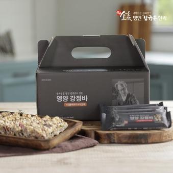 [식품명인 김규흔] 영양 강정바 1박스 (15g*30개입) (업체별도 무료배송)