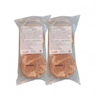 뉴로스트 비프패티 1kg x 2봉 (업체별도 무료배송)