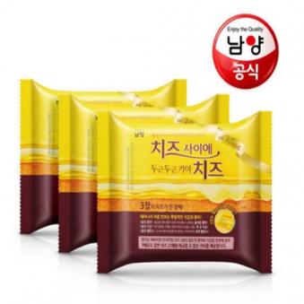 [남*유업] 치즈사이에 두근두근 카야치즈 224g X 3팩 (업체별도 무료배송)