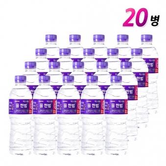 [차오른] 물한빙 생수 500ml x 20병 (업체별도 무료배송)