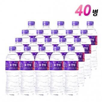 [차오른] 물한빙 생수 500ml x 40병 (업체별도 무료배송)